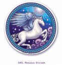 Window Sticker Pegasus
