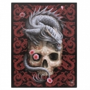 Oriental Dragon Lord Wall Plaque By Anne Stokes