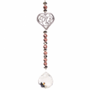 Feng Shui decoration heart and crystal ball