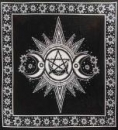 Altar Cloth Triple Moon S/V