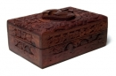 Tarot Box Aum Woodcarved