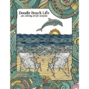 Beach Doodle Life Colouring Book Tree Free