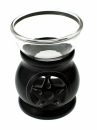 Oil Burner Soapstone Pentagram