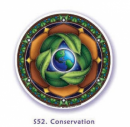 Window Sticker Earth Conservation