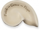 Faith Grace Hope Message Shell Angel Star