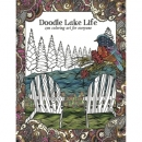 Lake Doodle Life Colouring Book Tree Free